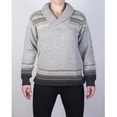 Glesver V neck Collared Sweater - Women